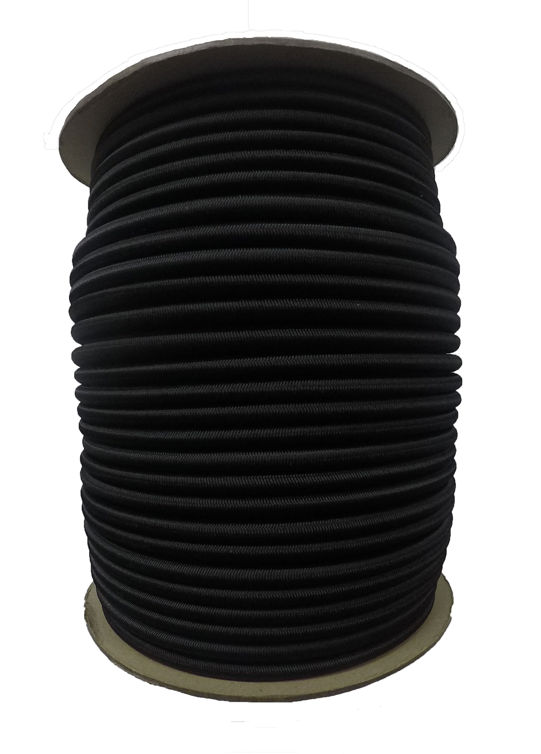 3/8'' x 50 FT. Shock Cord - BLK