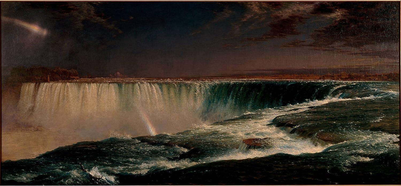 Niagara Falls from the American Side Frederic Edwin Church Cotton Canvas Print