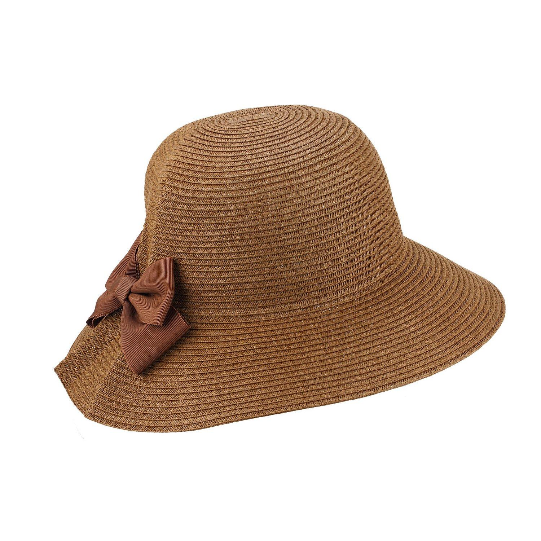 AccessHeadwear Sun Styles Ana Ladies Cloche Style Sun Hat Beige 2402712