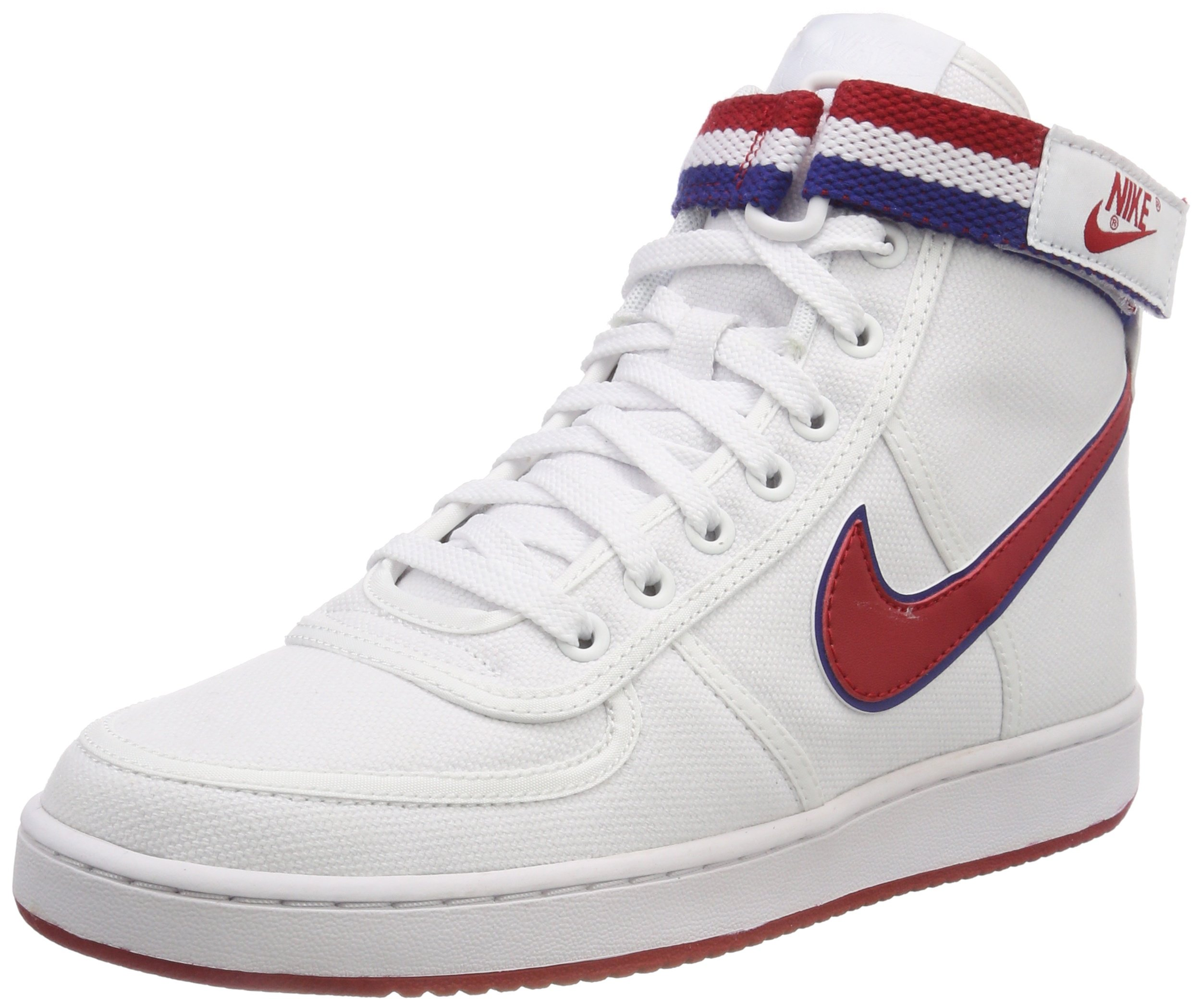b53659bacb09 Galleon - NIKE Vandal High Supreme Men s Sneakers White Gym-Red Royal Blue  318330-101 (10.5 D(M) US)
