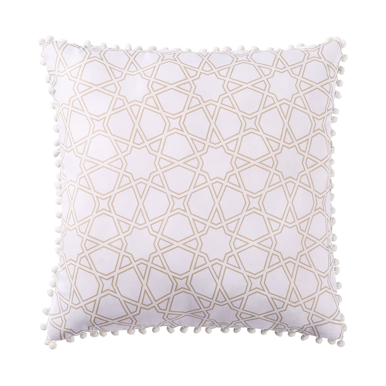 - KAVKA Designs Play Chevron Pillow Case, Grey//White MGTAVC2064PC32 Size: 30X20X1 -
