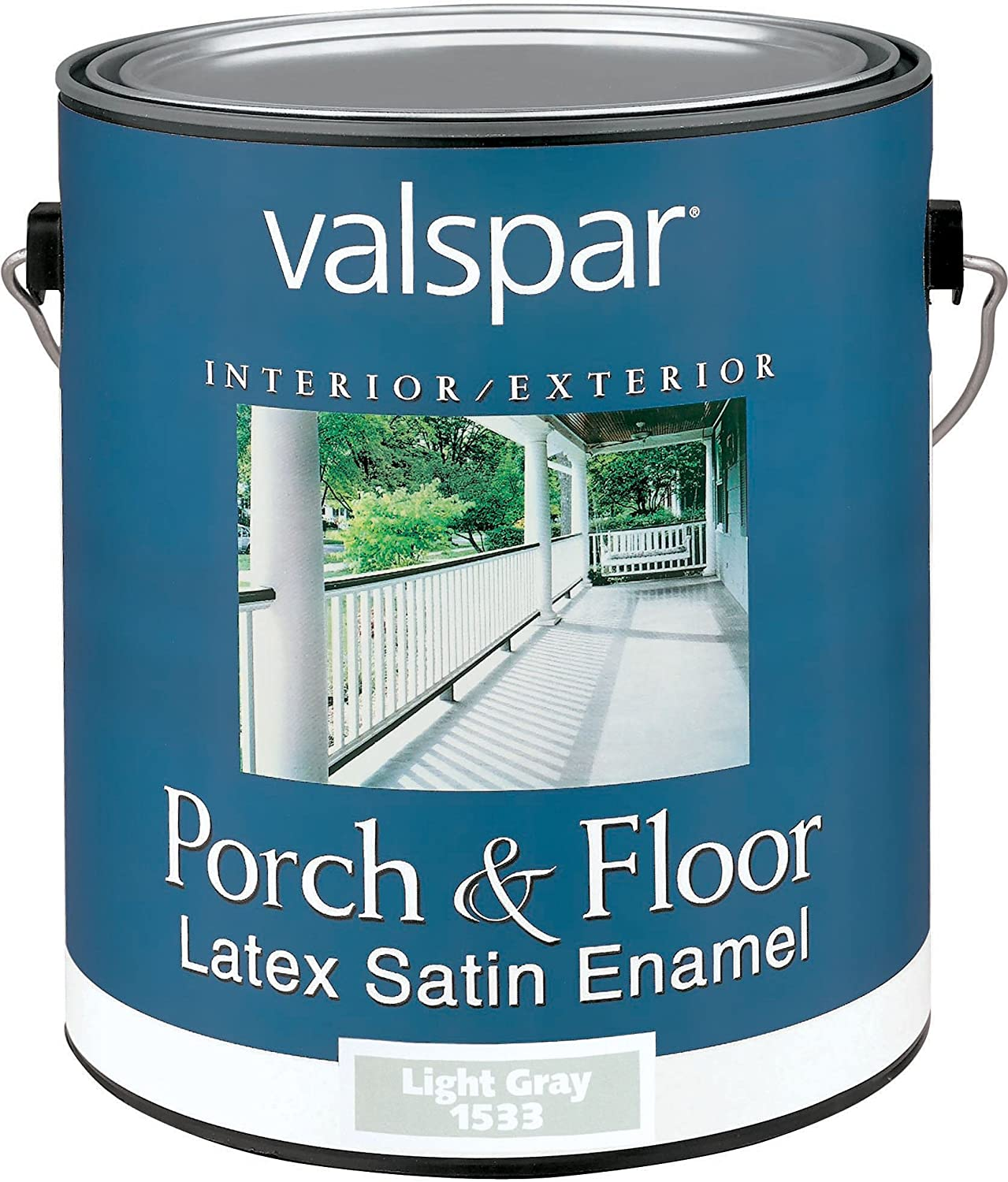 Valspar 1533 Porch and Floor Latex Satin Enamel