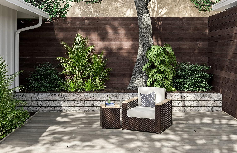 homestyles 6800-11-T 2-Piece Outdoor Set, Brown: Garden & Outdoor