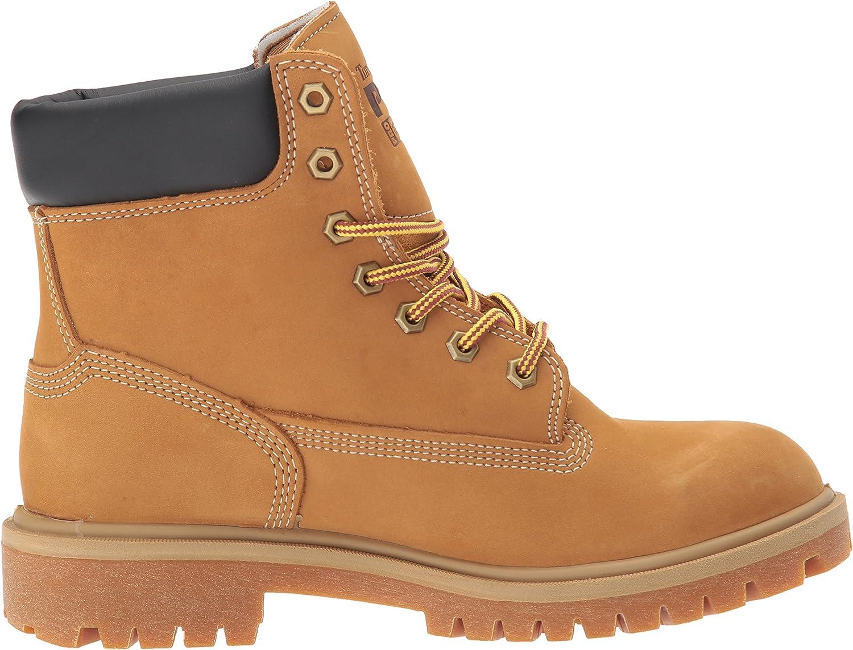 "Timberland PRO Women/'s Direct Attach 6/"" Steel Toe Boots Wheat Nubuck TB0A1KJ8231"
