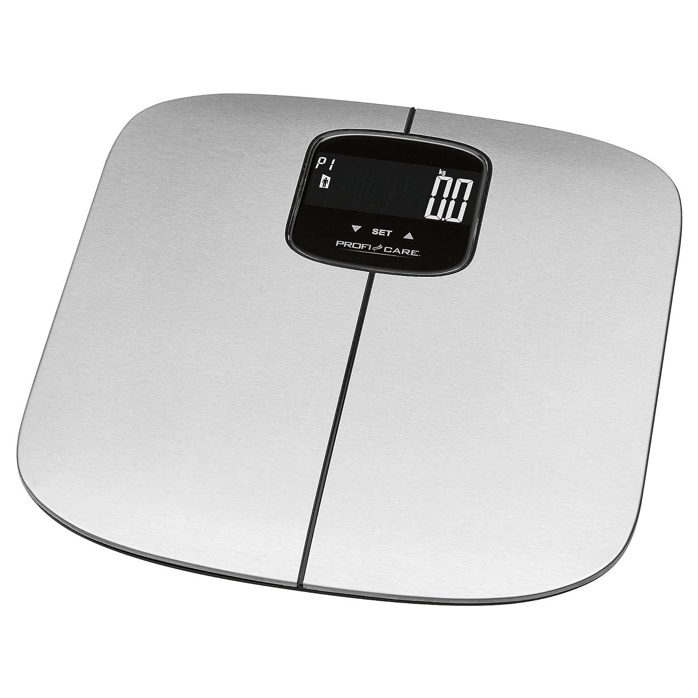 ProfiCare PW 3006 - Báscula baño digital con análisis corporal de 7 funciones diagnóstico: Amazon.es: Salud y cuidado personal