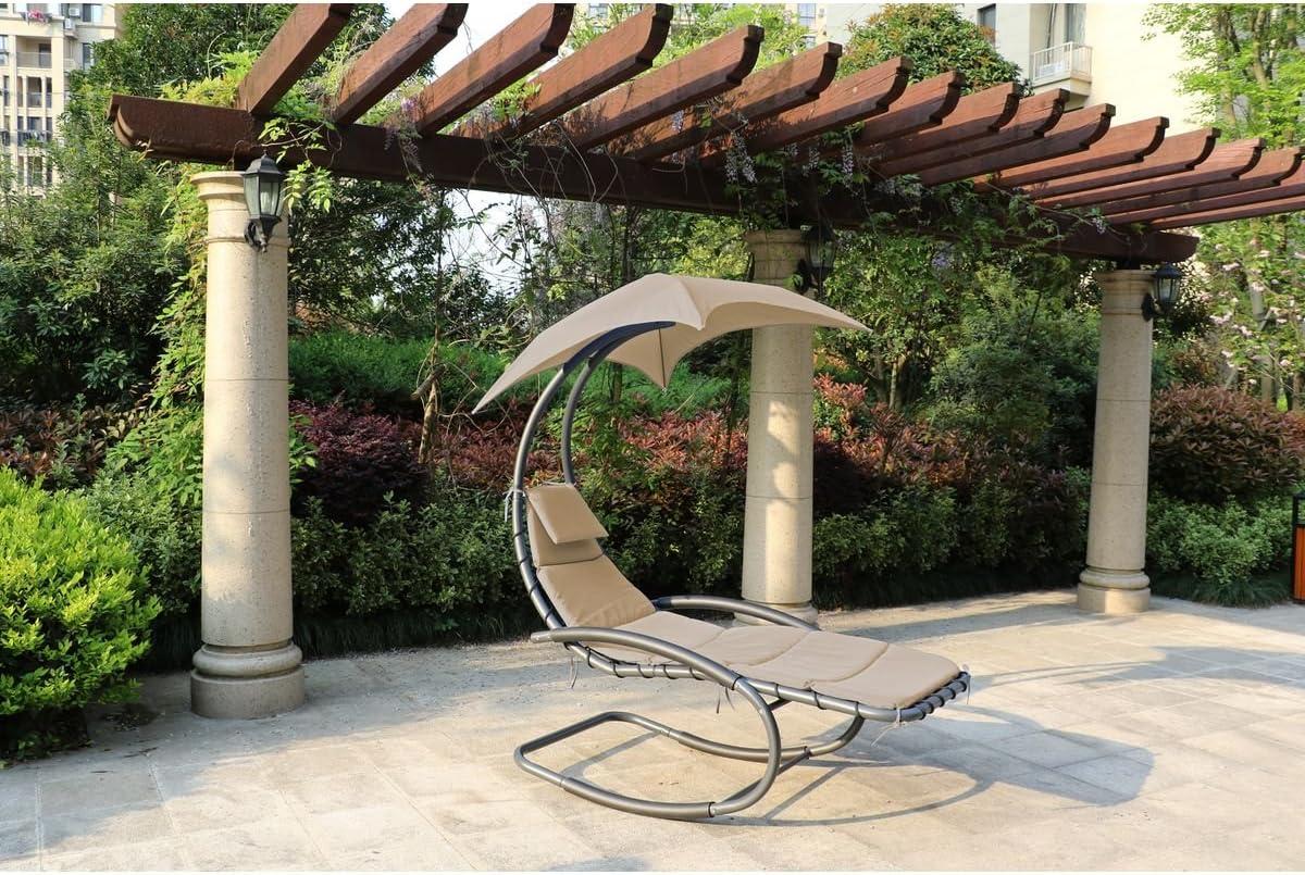 Einfach Schaukelliege Garten Bestand An Wohndesign Dekorativ
