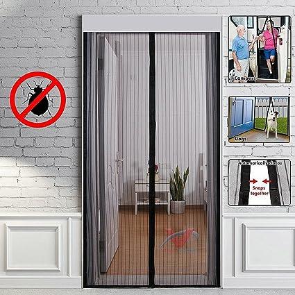 Mosquitera para puerta corredera stunning aluminios for Mosquitera magnetica puerta