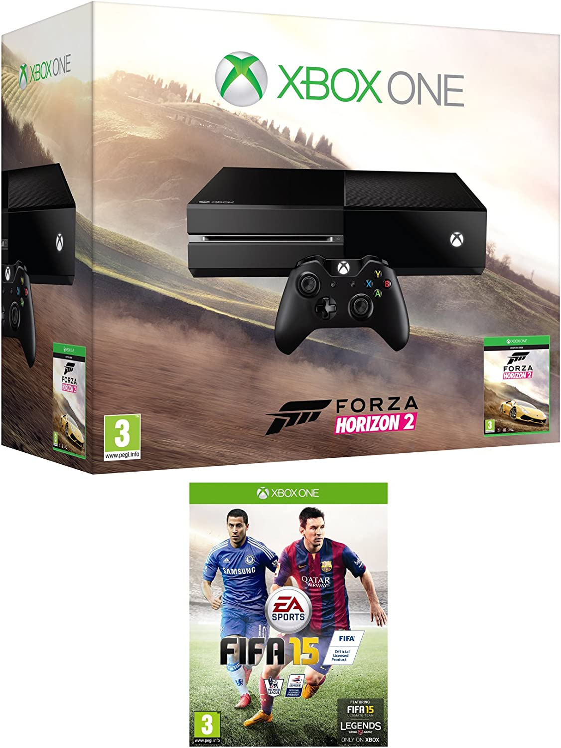 Xbox One Console with Forza Horizon 2 & FIFA 15 [Importación ...