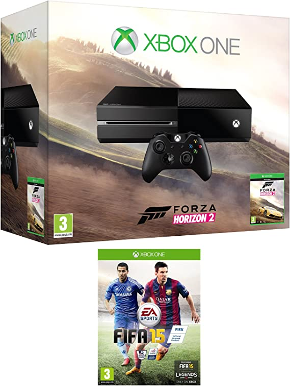 Xbox One Console with Forza Horizon 2 & FIFA 15 [Importación Inglesa]: Amazon.es: Videojuegos