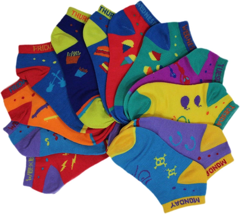 Kid/'s Halloween Socks Sock Size 6-8.5