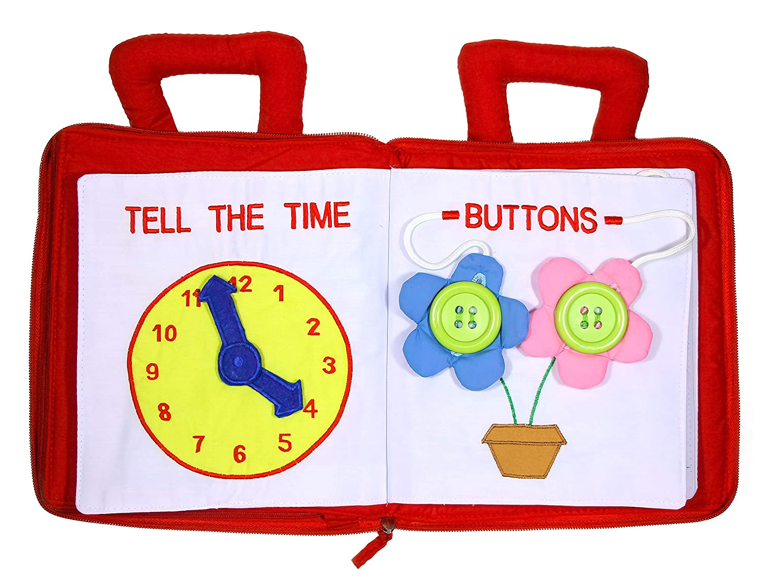 Pockets of Learning Personalized My Quiet Book Activity Busy Book for Toddlers and Children Original Quiet Book