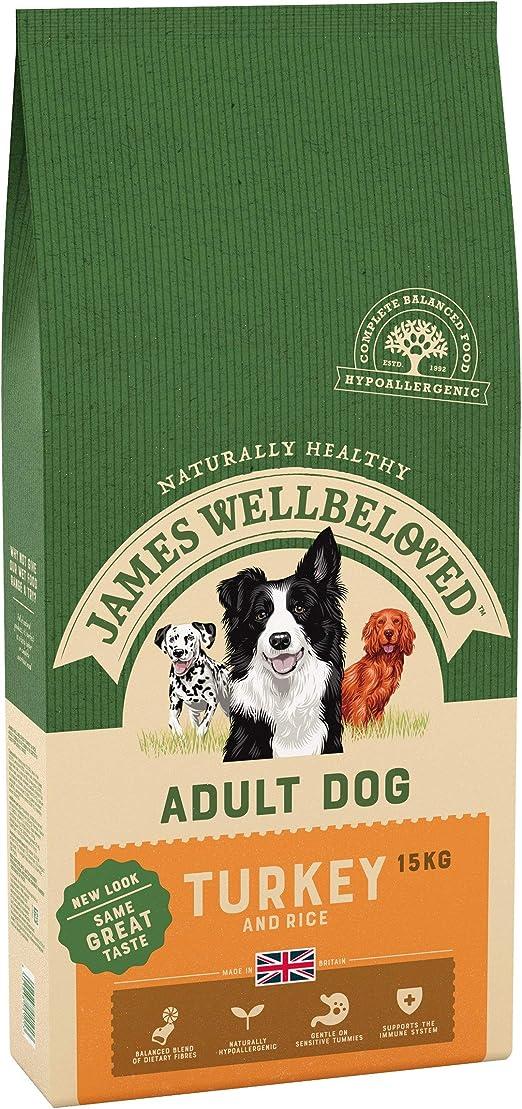 James Wellbeloved Dog Food Adult Turkey