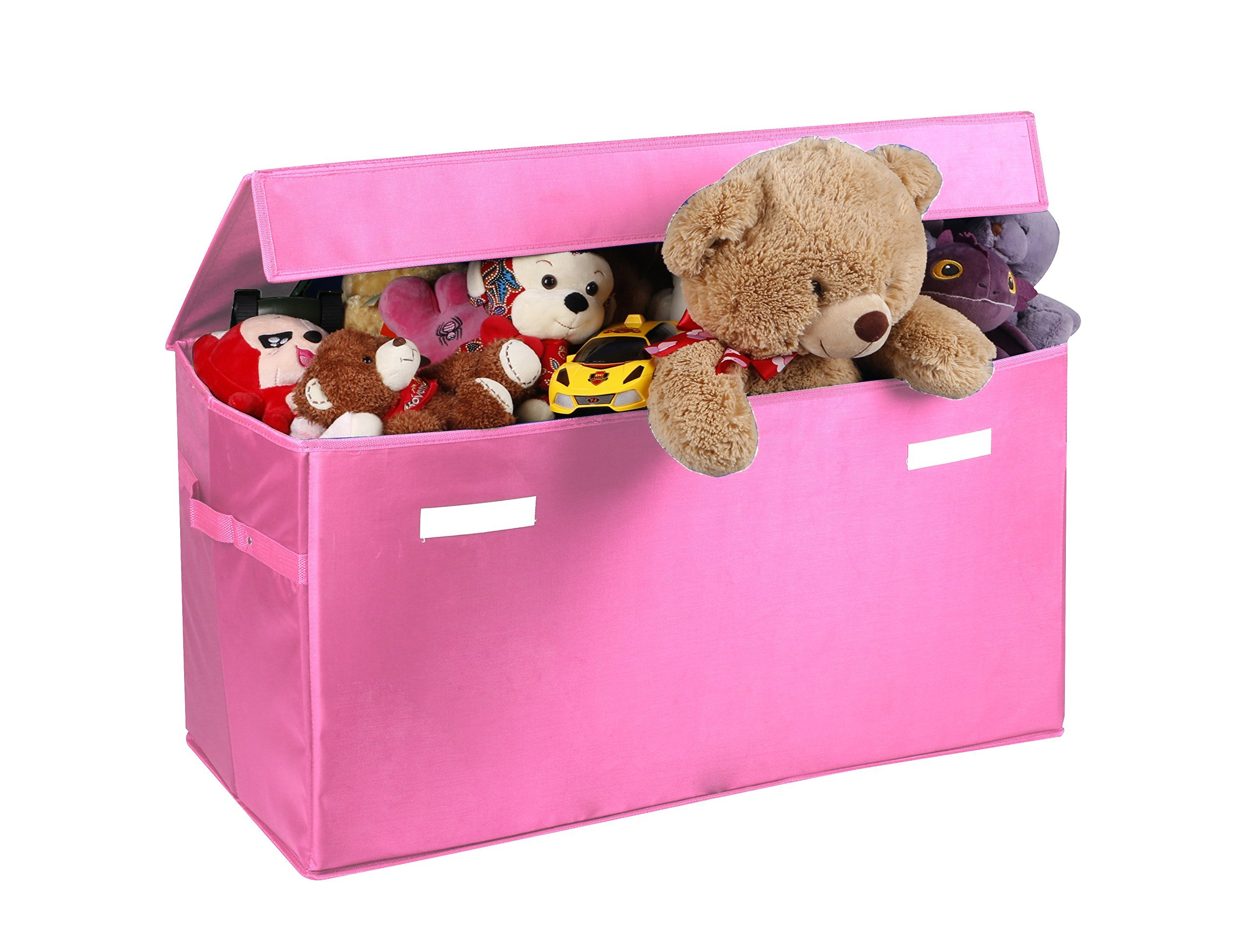 Childrens Jumbo Bedroom Room Tidy Toy Storage Chest Box Trunk: Amazon.com: Strong Collapsible Toy Chest Box [Largest