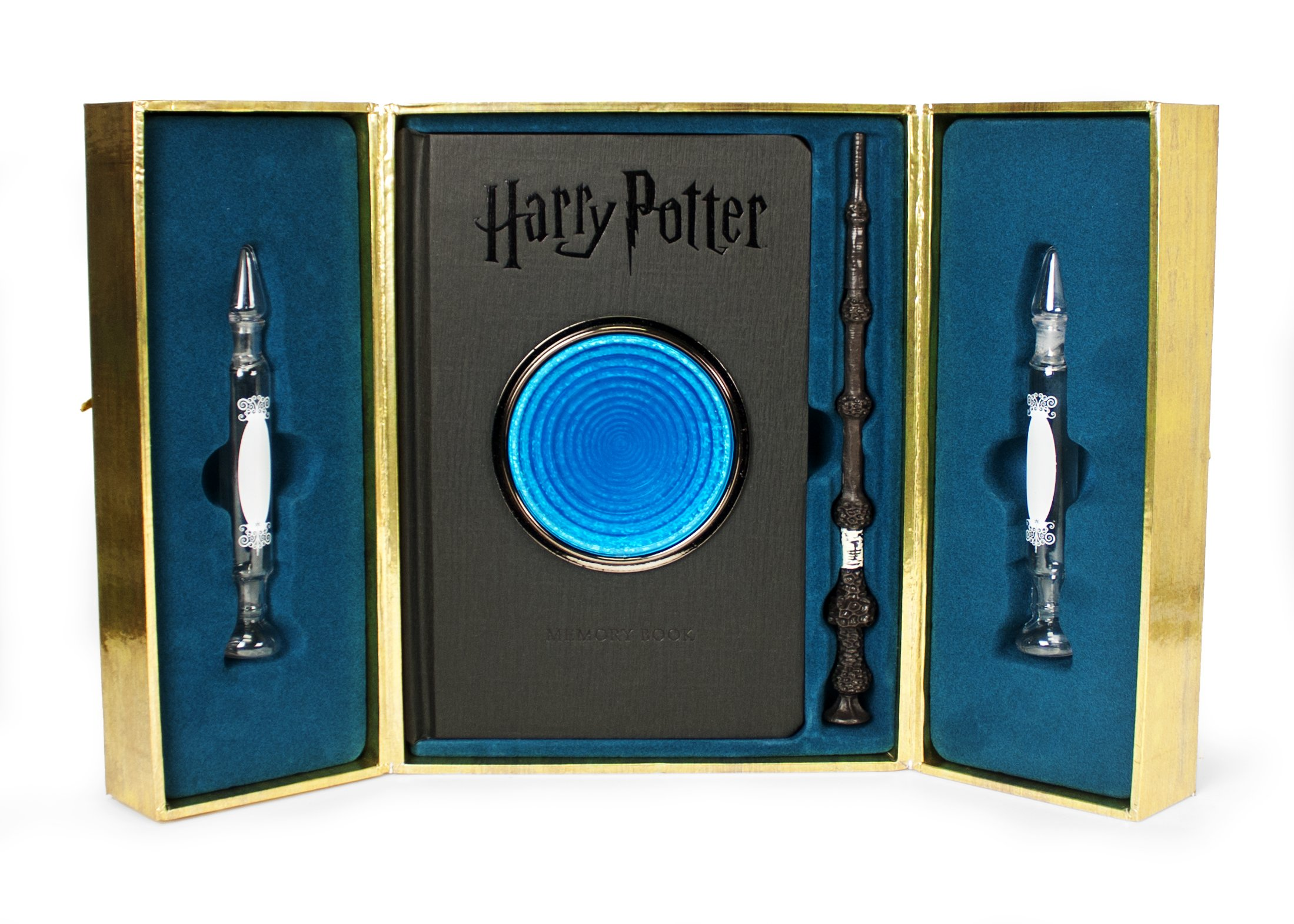 Amazon.com: Harry Potter Pensieve Memory Set (9780762462315 ...