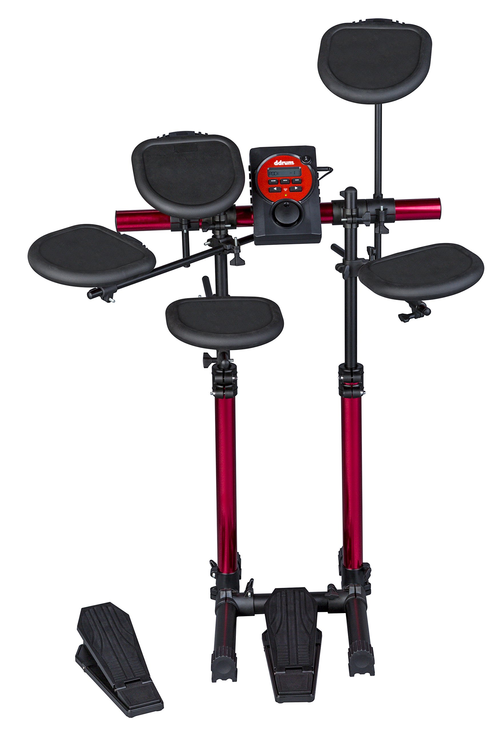 Ddrum DD Beta Compact size Drum Kit with Adjustable Rack