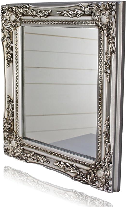 Miroir /à Main d/écoration Argent Antique Chic Antique