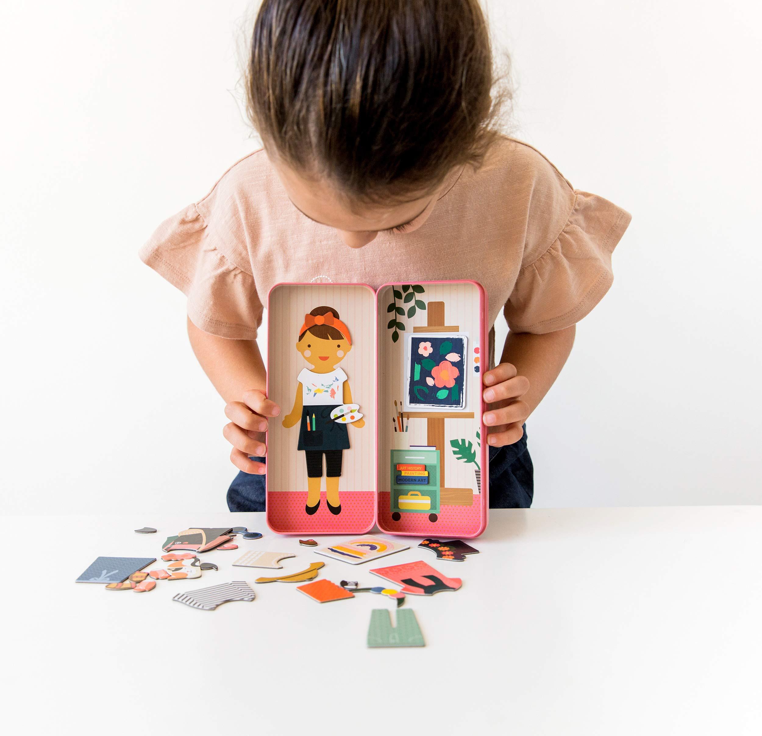 Petit Collage Shine Bright at The Studio Magentic Dress Up & Play Set PTC269
