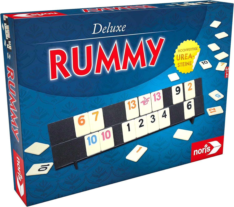 Noris Spiele 606101779 Rummy, Deluxe Set, Familia Parte: Amazon.es: Juguetes y juegos