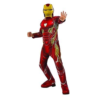 Rubie's Marvel Avengers: Infinity War Deluxe Iron Man Child's Costume, Medium: Toys & Games
