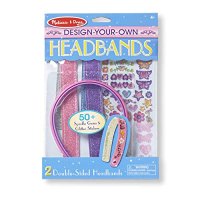 Melissa & Doug Design-Your-Own Headbands: Melissa & Doug: Toys & Games