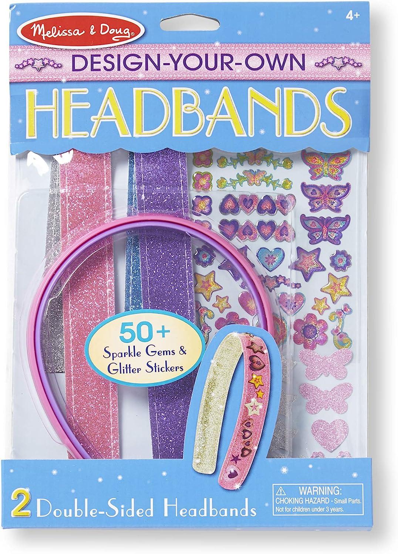 Rings Melissa /& Doug Girls DYO Accessories 4 Items Bundle Bracelets Headbands and Bangles Melissa and Doug