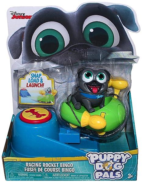 Amazon Com Disney Junior Puppy Dog Pals Racing Rocket Bingo With