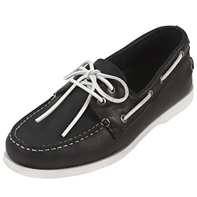 84c2b66b82f Steel Edge Leather Boat Shoes Loafers Men (7