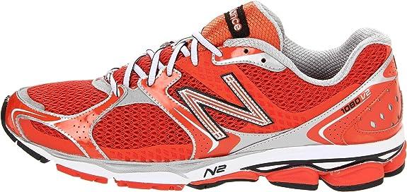 New Balance M1080CT2 - Zapatillas de correr de material sintético hombre, color rojo, talla 49: Amazon.es: Zapatos y complementos