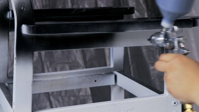 Pistola de pulverizaci/ón de pintura con boquilla de 1,5 mm Capacidad de 750 ml Revestimiento de succi/ón Modo de alimentaci/ón Pistola de pulverizaci/ón de pintura de aire Herramienta neum/ática