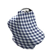 Bebe au Lait 5-in-1 Cover, Buffalo Check
