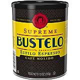 Supreme By Bustelo Espresso Style Dark Roast Ground Coffee, 10 Ounces