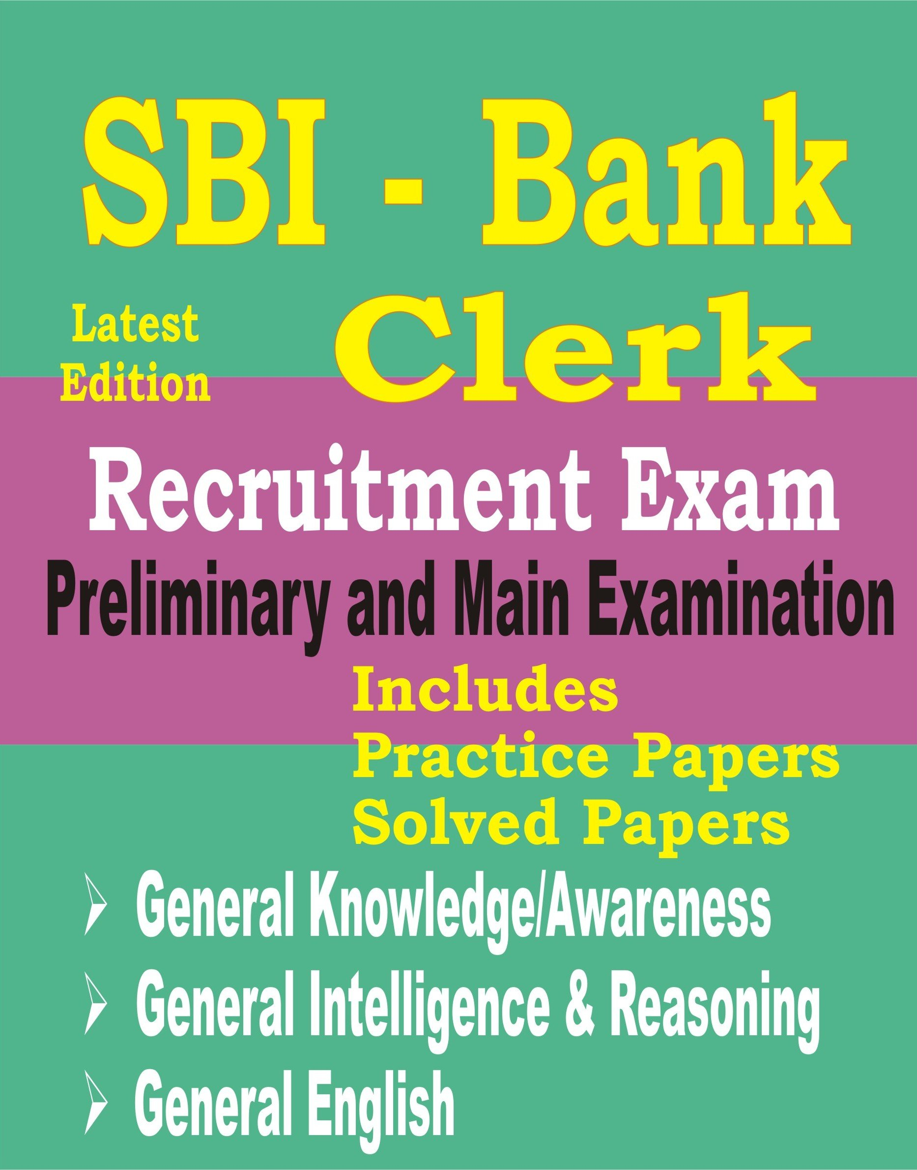 buy sbi bank clerk 2018 preliminary and main exam guide solved