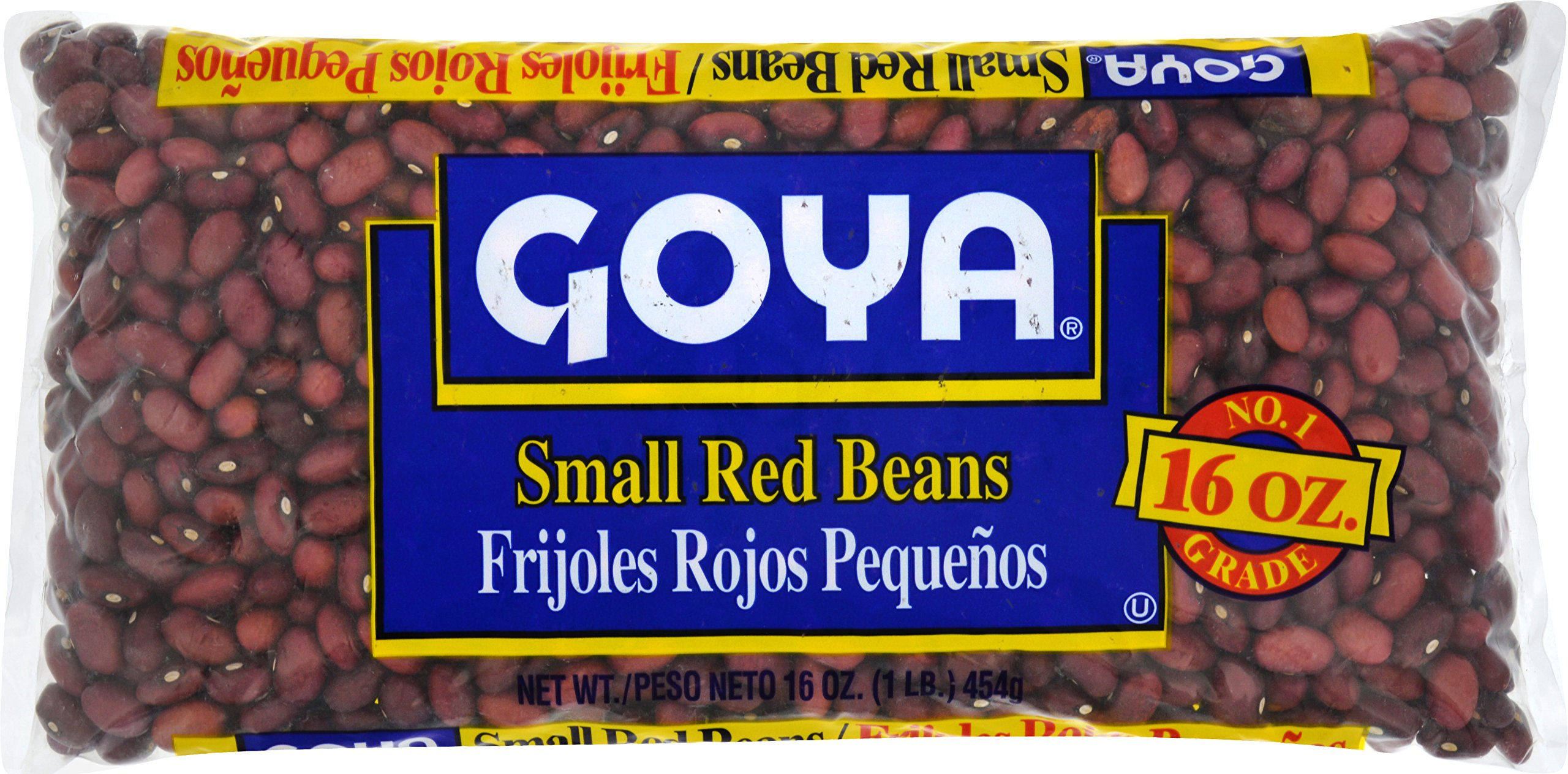 Goya Foods Small Dry Red Beans, 16-Ounce (Pack of 24)