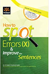 How to Spot Errors (X) & Improve the Sentences Kindle Edition