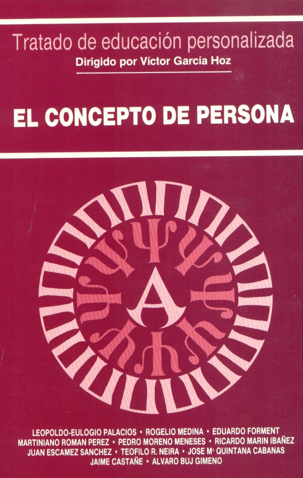 El concepto de persona (Educación y Pedagogía): Amazon.es: Rogelio Medina: Libros