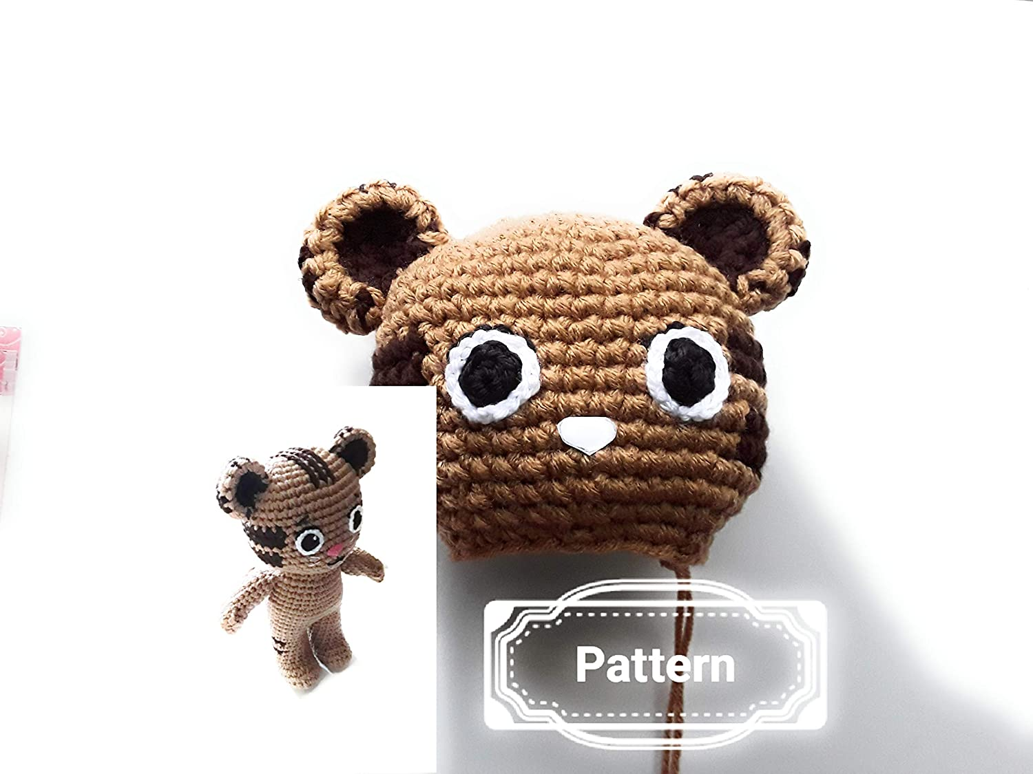 Set of crochet patterns Daniel the tiger and miss Elaina | 1125x1500