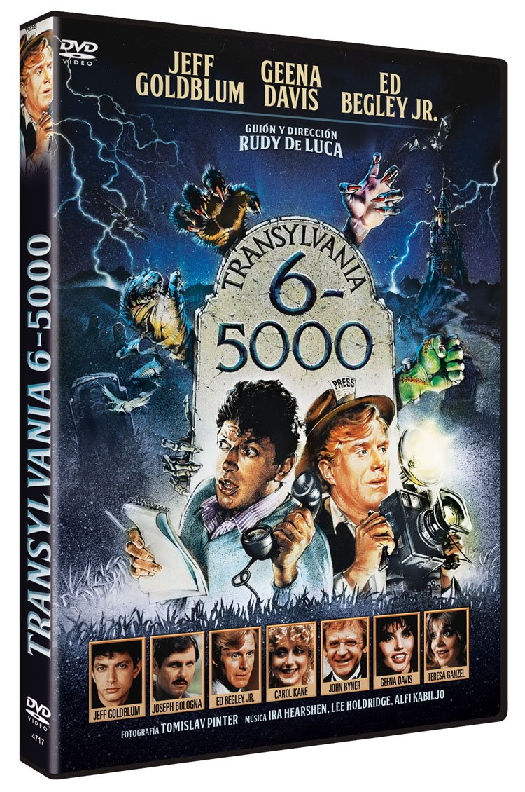 Transylvania 6-5000 DVD 1985