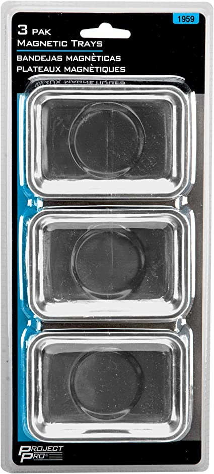 Pack of 3 Performance Tool 1959 Magnetic Tray
