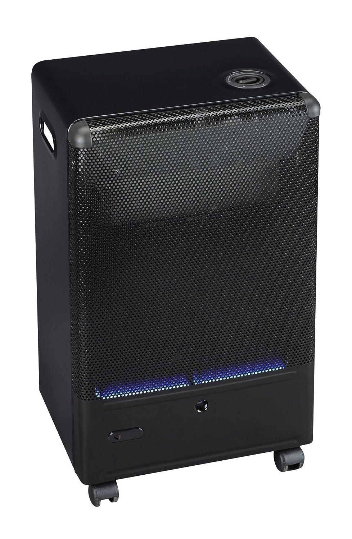 Tepro – Calefactor de Gas con Llama Azul y termostato, 4, 2 kW, Color Negro: Amazon.es: Jardín