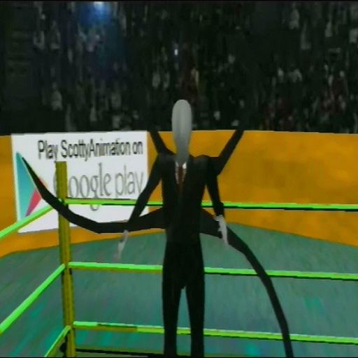 Slenderman Deathmatch 3D -