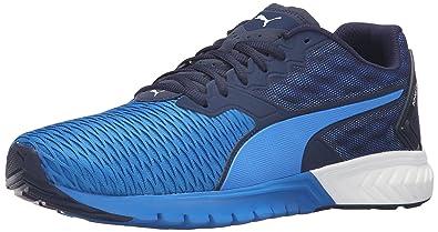 best website 53231 77480 PUMA Men's Ignite Dual Running Shoe, Peacoat/Electric Blue Lemonade, ...
