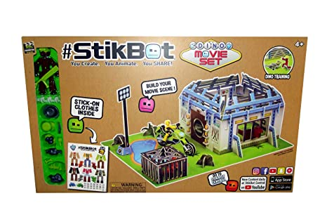#StikBot Dino Movie Set