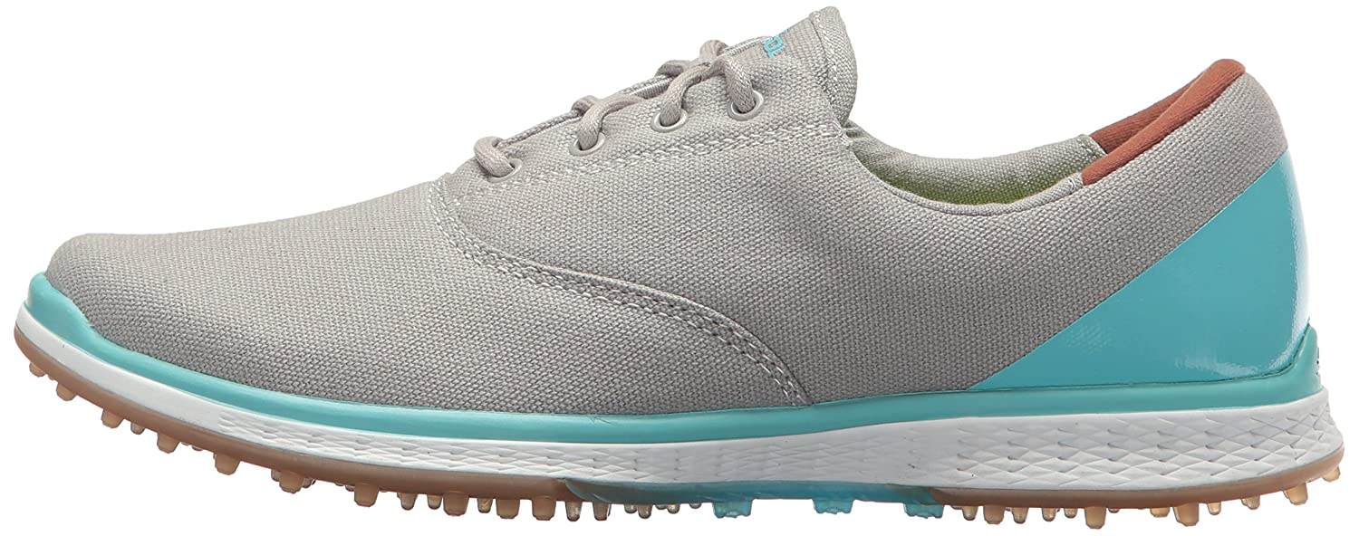 Skechers Performance Women's Go Golf Elite Canvas Golf Shoe B06XWHSP42 9.5 B(M) US|Charcoal