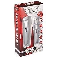 Wahl - Combo de recortadora de bigote y de barba, 5606-308