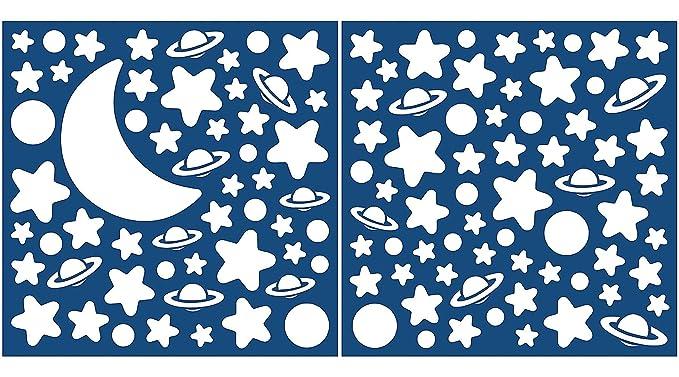 32 opinioni per Decofun C79223 Stelle e pianeti bianchi che brillano nel buio, Adesivi da