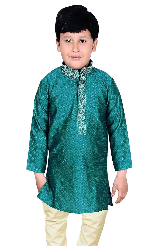 Amazon.com: Boys Indian Sherwani Kurta pajama for wedding ...