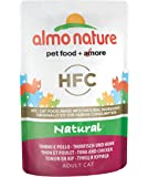 Almo Nature HFC Natural Cat   - Tuna and Chicken  (Pack of 24 x55g)