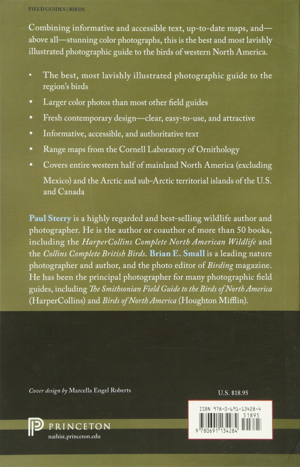 Birds Of Western North America A Photographic Guide Princeton Field Guides Paul Sterry Brian Small 9780691134284 Amazon Books