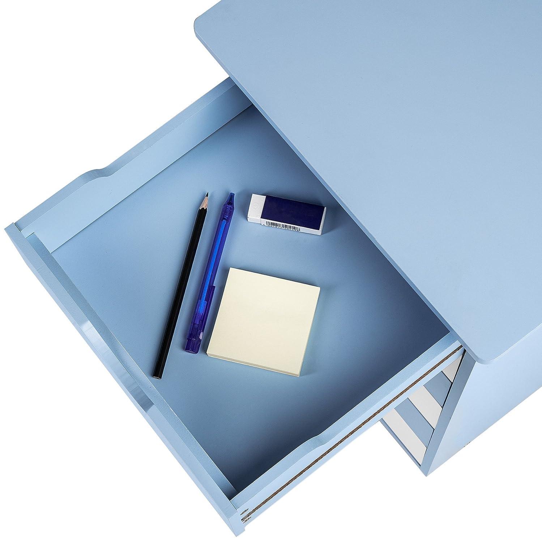 Blau   Nr. 400925 TecTake 800055 Rollcontainer mit Rollen und 6 Schubladen Diverse Farben