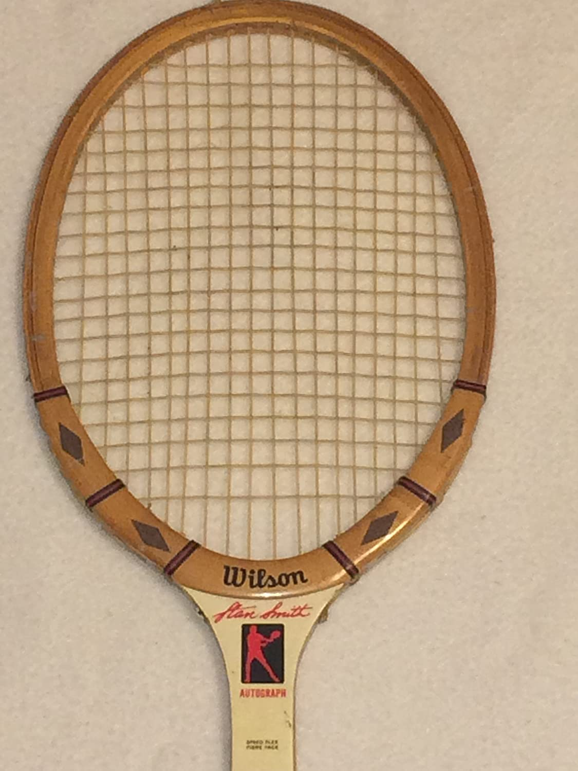 separation shoes e5243 52890 Wilson Stan Smith Autograph Wood Tennis Racquet Medium 4 5/8 ...